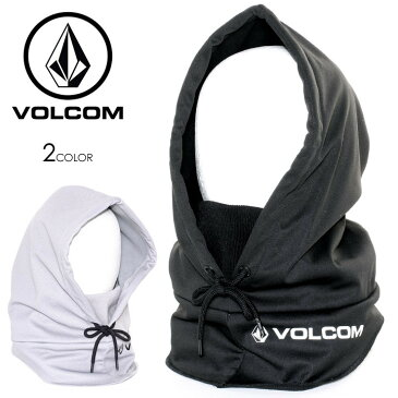 VOLCOM ボルコム フェイスマスク メンズ JPN HOOD WARMER 2019-20 秋冬 ブラック/グレー ワンサイズ 【evi】