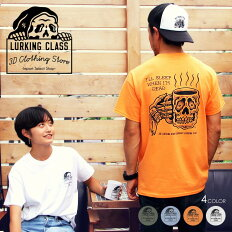 LURKINGCLASSラーキングクラスTシャツメンズLURKINGCLASSx3DSMUTEE2019春夏ホワイト/グレー/オレンジ/オリーブM/L/XL