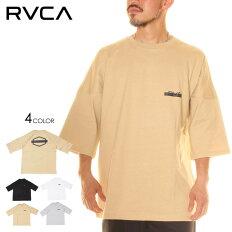 RVCAルーカTシャツメンズREDACTEDRVCATEE2020春夏ブラック/グレー/ベージュ/ホワイトS/M/L