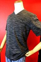 【バラシ】【barassi】【半袖Tシャツ】【2016春夏新作】【メンズ】【Tシャツ】【メンズファッション】【バラシ服】ストレッチVネック半袖TシャツCグレー
