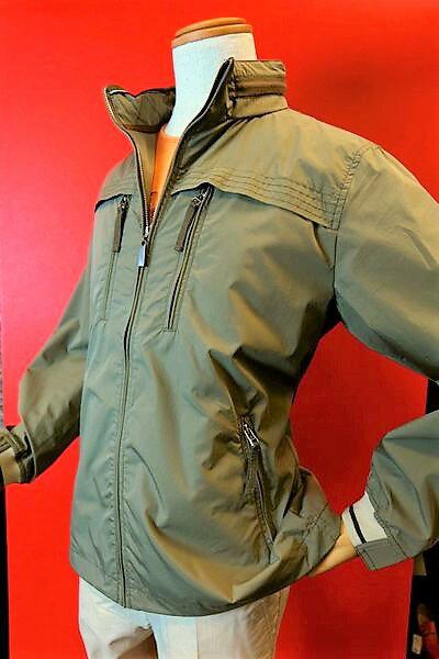 【2017春夏新作セール35%OFF】【アルコットヒル】【Alcott hill】【ブルゾン】【メンズ】【ブランド】【アンジェロ】【メンズファッション】【アルコットヒル服】 スタンドブルゾン カーキ