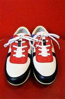 【カステルバジャック】【CASTELBAJAC】【スニーカー】【2017春夏新作】【メンズ】【ブランド】【ゴルフ】【シューズ】【メンズファッション】【カステルバジャック靴】切り替えスニーカーホワイト