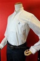 【ジーゲラン】【GEEGELLAN】【スタンドカラーシャツ】【2017春夏新作】【メンズ】【ブランド】【カジュアルシャツ】【メンズファッション】【ジーゲラン服】ワンピーススタンドカラーシャツホワイト