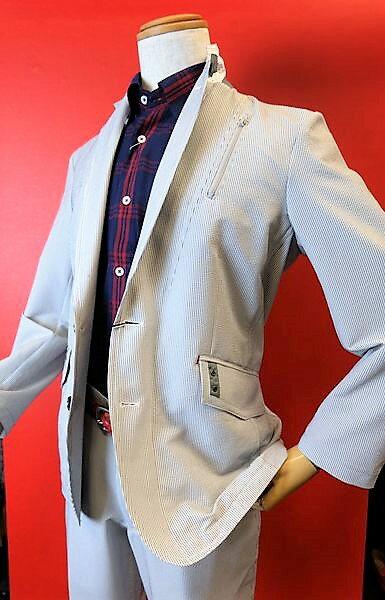 【2017春夏新作セール35%OFF】【バラシ】【barassi】【ジャケット】【メンズ】【ブランド】【セットアップジャケット】【メンズファッション】【バラシ服】 吸汗速乾ジャケット グレー
