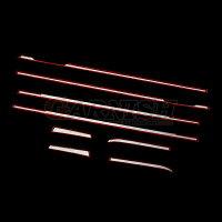 送料無料ホンダNBOX/NBOXCUSTOMJF3/JF42017年新型ウェザーストリップモールサイドウィンドウトリムガーニッシュ鏡面カスタムパーツエアロアクセサリードレスアップ外装※新品8pcskjx3436