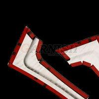 送料無料ホンダNBOX/NBOXCUSTOMJF3/JF42017年新型サイドドアアンダーモールドアトリムガーニッシュ鏡面カスタムパーツエアロアクセサリードレスアップNボックス外装※新品6pcskjx3454