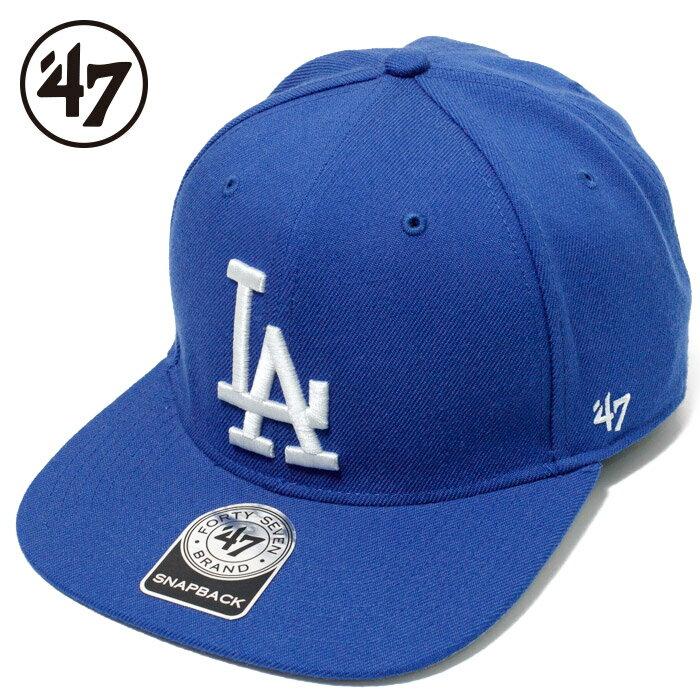 【9/26再入荷】47Brand キャップ 47 Brand cap 47ブランド ロサンゼルス ドジャース キャップ ロイヤルブルー / LA Dodgers SURE SHOT '47 CAPTAIN ROYAL SRS12WBP MLB ストレート