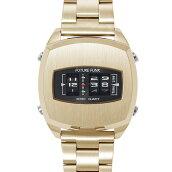 FUTUREFUNKフューチャーファンクFF101ローラー式ウォッチゴールドステンレススチールベルト腕時計70年代80年代レトロ