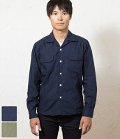 THREADスレッドメンズオープンカラーシャツジャケット全2色OpenCollarL/SShirt【送料無料】