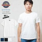 【今季最終入荷!!】GOODWEAR グッドウェア tシャツ スリムフィット 日本別注 ポケット / SLIM-FIT S/S T-SHIRT ホワイト ネイビー ブラック ポケT M L XL インナー 米国製/アメリカ製/ヘビーウェイト/カスタム made in usa メンズ レディース