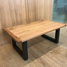 無垢材コーヒーテーブル