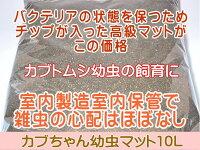 カブトムシ幼虫マット・カブちゃん幼虫マット10L(カブトムシ幼虫用マット)
