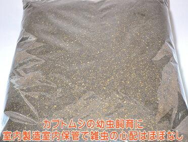 【九州工場直送】カブトムシ幼虫マット・カブちゃん幼虫マット70L(カブト産卵・幼虫用マット)
