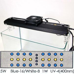 サンゴ・水草育成用に開発された次世代LEDライト!JUNコーポレーション イリューマジック M-60...