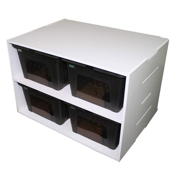 ビバリア コレクションケース4 ブラック L