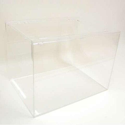 オリジナル 角型アクリル水槽600(W)*450(D)*450(H) 板厚5ミリ
