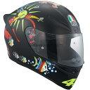 AGV K1 WHITE ZOO ヴァレンティーノ・ロッシ フルフェイスヘルメット MATT BLACK あす楽対応 送料無料
