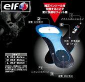 送料無料エルフ高機能インソール(抗菌・防臭ミューファン採用)
