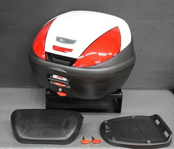 ワイズギア製GIVIリアボックスE47バックレスト付きカラー塗装あす楽対応