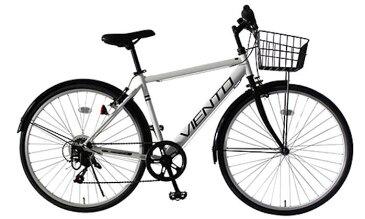 TOPONE (トップワン) 26インチ 泥除け付き シマノ6段変速 クロスバイク (ホワイト) (T-MCA266-43-WH) 【送料無料・メーカー直送・代引不可】 02P03Dec16