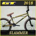 BMX ジーティー スラマー (イエロー) 2018 GT SLAMM...