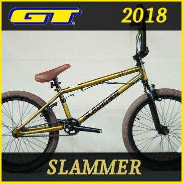 BMX ジーティー スラマー (イエロー) 2018 GT SLAMMER