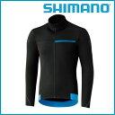 SHIMANO サーマル ウインター ジャージ (ブラック) シマノ メンズ サイクル ウェア...