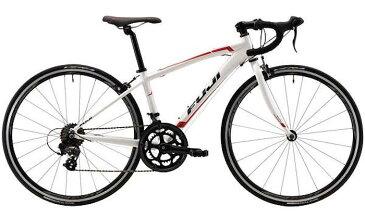 フジ FUJI エース 650 (パールホワイト) 2021 FUJI ACE 650 ロードバイク 子供用自転車