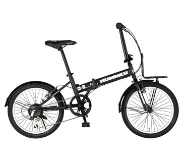 折り畳み自転車 HUMMER FDB206 TANK-N (ブラック) ハマー FDB 206 タンク-N FOLDING BIKE フォールディングバイク