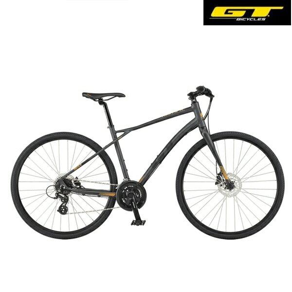 クロスバイク GT TRAFFIC X (ガンメタル) 2020 ジーティー トラフィックエックス