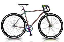 ピストバイク WACHSEN BSS-MG7002 / ヴァクセン 700Cクロモリシングルスピード Polarlicht【送料無料・メーカー直送・】 表情を変える世界に1つだけの自転車