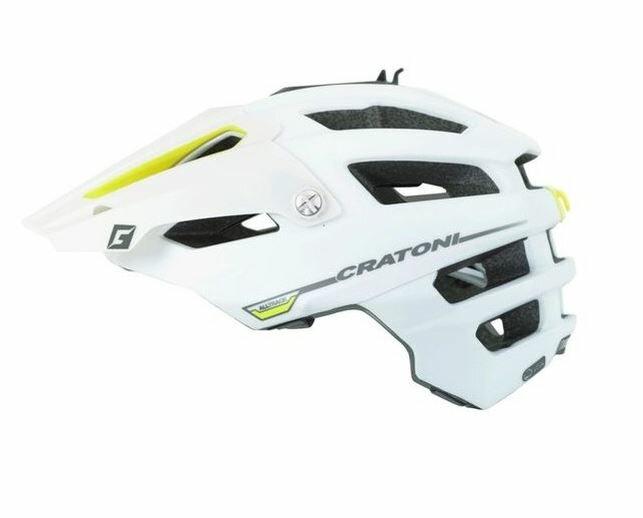 CRATONI / クラトーニ / ALL TRACK オールトラック / White-yellow rubber (サイクルヘルメット) 02P03Dec16