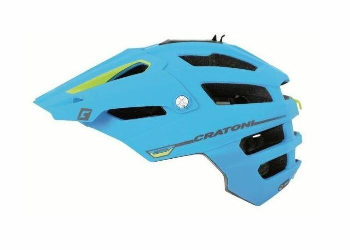 CRATONI / クラトーニ / ALL TRACK オールトラック / Blue-lime rubber (サイクルヘルメット) 02P03Dec16