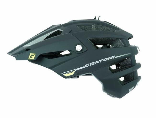 CRATONI / クラトーニ / ALL TRACK オールトラック / Black-anthracite rubber (サイクルヘルメット) 02P03Dec16