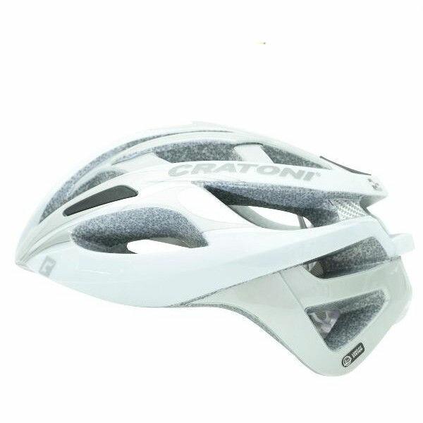 CRATONI / クラトーニ / C-BREEZE シーブリーズ / White silver glossy (サイクルヘルメット) 02P03Dec16