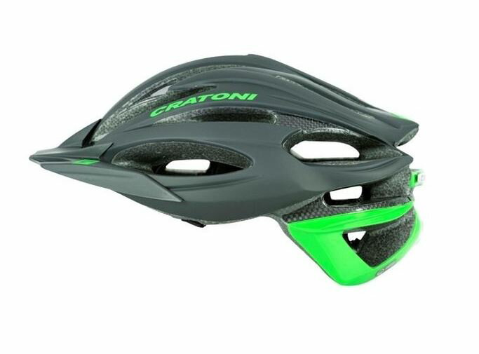 CRATONI / クラトーニ / C-LIMIT シーリミット / Black-limegreen rubber (サイクルヘルメット) 02P03Dec16