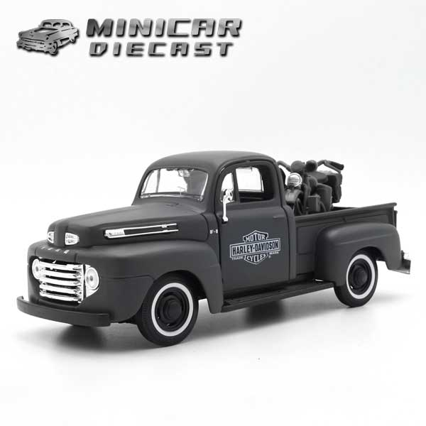 車, ミニカー・トイカー 124 1948 FORD PICKUP 1942 WLA FLATHEAD 1948 1942
