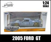 1/24箱入りダイキャストミニカー【2005FORDGTメタリックブルー】2005年フォードGTアメ車JadaToys社製