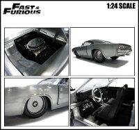 1/24ワイルドスピードミニカー箱入り【Dom'sDodgeChargerR/T(ベアメタル塗装)】1970年式ダッジチャージャーアメ車FAST&FURIOUS