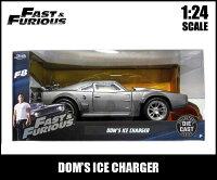 1/24ワイルドスピードミニカー箱入り【DOM'SICECHARGER】ドミニクアイスチャージャーFAST&FURIOUSICEBREAKワイルド・スピードアイスブレイクダイキャスト