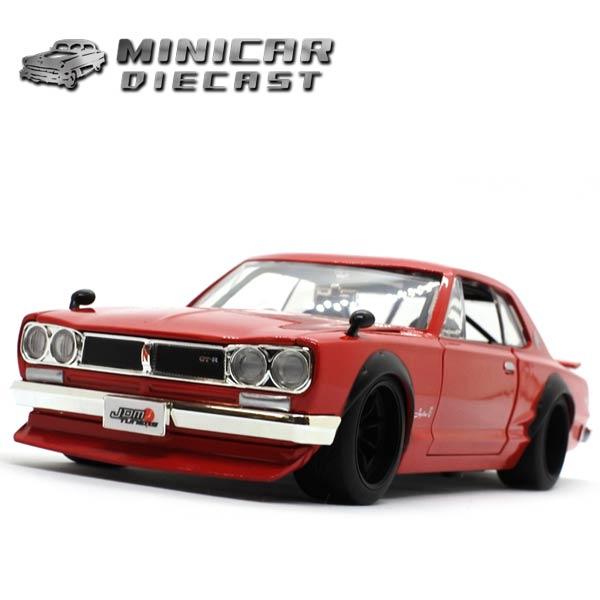 車, ミニカー・トイカー  124 1971 NISSAN SKYLINE GT-R() 71 Jada Toys