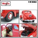 【送料込み】ミニカー 1/18 箱入り 1939 FORD DELUXE レッド フォード デラックス ダイキャスト アメ車 MAISTO 3