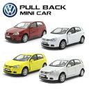 プルバックミニカー【Volkswagen GOLF V 4台セット】フォルクスワーゲン ゴルフ ミニカー アメ車 WELLY