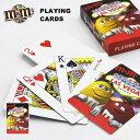 m&m's【トランプ(LAS VEGAS/ブラック)】カード プレイングカード M&Ms グッズ アメリカ直輸入 公式ライセンス品 キャラクターグッズ カードゲーム パーティー ポーカー マジック 手品 エムアンドエムズ ラスベガス ネコポス発送可能