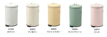 ダストボックス ごみ箱 ゴミ箱 ペダル キッチン おしゃれ かわいいダストボックスペダルビンLサイズ丸くて可愛い