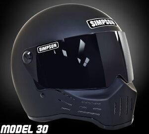 [送料無料][ヘルメット][フルフェイス][SINPSON][シンプソン][MODEL30][M30]【レビューで特典】...