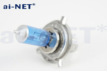 【NSR250R】H412V35/35WヘッドライトバルブスーパーホワイトH4バルブaiNET