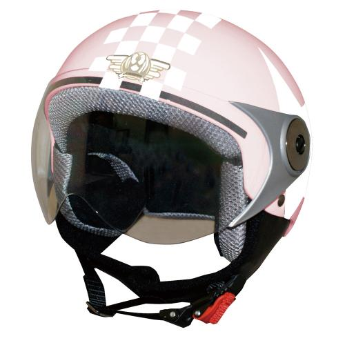 ジュニア用 DAMMTRAX ダムトラックス  ダムキッズポポGTピンク/STARバイク用子供用キッズヘルメット あす楽  お買