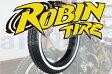 【セール特価】【DRAGSTAR400 [ドラッグスター400]】 ROBIN TIRE[ロビンタイヤ] 5.00-16 500-16 ホワイトリボンタイヤ
