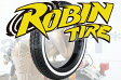 【セール特価】【GRASS TRACKER [グラストラッカー]】 ROBIN TIRE[ロビンタイヤ] 4.50-18 450-18 ホワイトリボンタイヤ